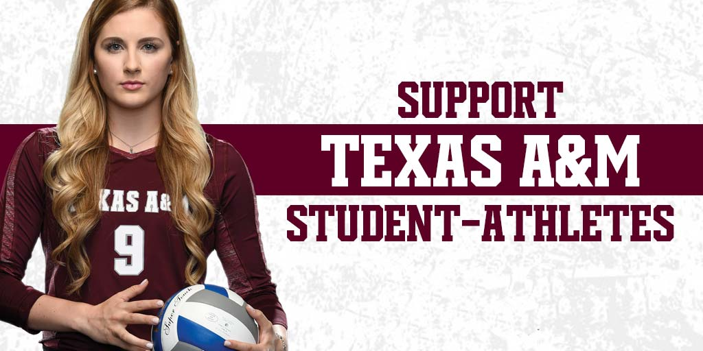 Support Texas A&M Student-Athletes