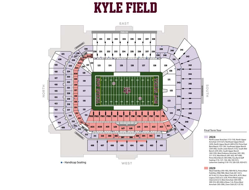 2019 Football Season Ticket Renewals FAQs | 12th Man Foundation on sports authority field at mile high map, parkview field map, kyle zoning map, progressive field map, fedex field map, cashman field map, lp field map, ford center map, faurot field map, hometown kyle map, coca-cola field map, centurylink field map, lincoln financial field map, tropicana field map, u.s. cellular field map, durham bulls athletic park map, soldier field map, target field map, victory field map,